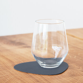 Nupo Curve Drinks Coaster - Set of 4 - Dark Blue