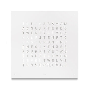 Classic Clock - White Pepper