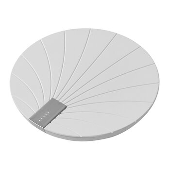 Bali Wireless Charging Pad with Battery - White