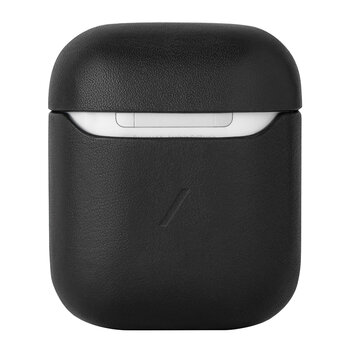 Leather Airpods Case - Black