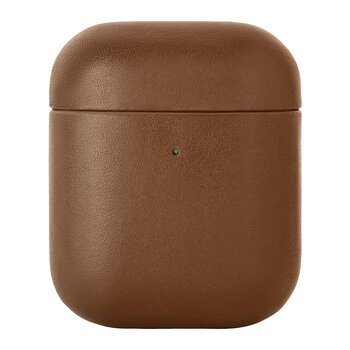 Leather Airpods Case - Tan