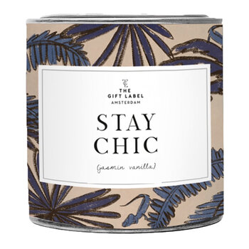 Candle Tin - Large - Stay Chic