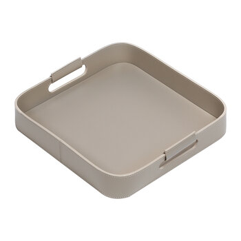 Ginepro Square Tray - Small - Mud