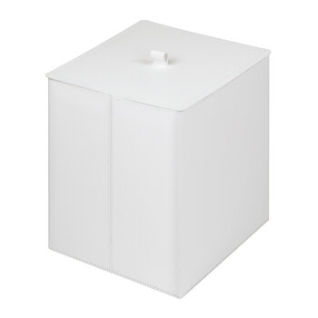 Bino Square Lidded Bin - Large - Light Gray