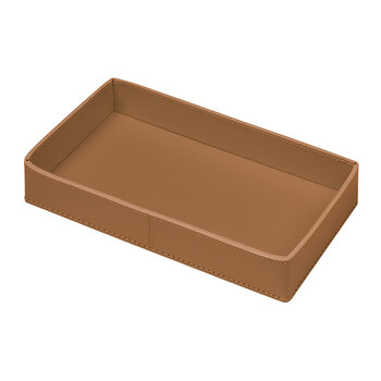 Narciso Vanity Tray - Small - Cognac