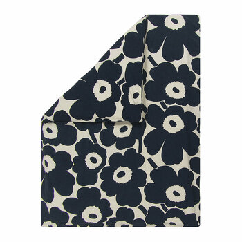 Unikko Duvet Cover - Navy/White - Single