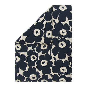 Unikko Duvet Cover - Navy/White - King