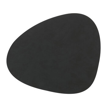 Nupo Curve Table Mat - Set of 4 - Black