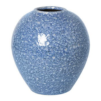Ingrid Vase - Insignia Blue/White - Medium