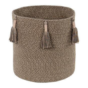Woody Basket - Soil Brown