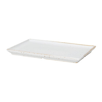Eli Square Plate - Soft Light Gray