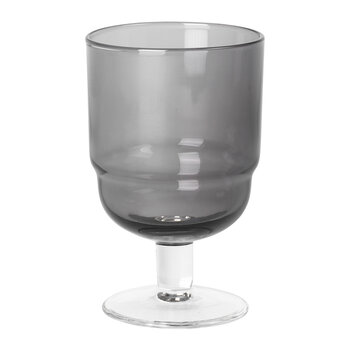 Nordic Bistro Wine Glass - Smoke