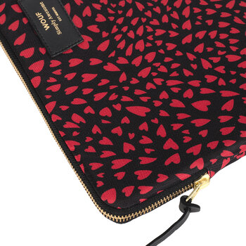 Hearts Laptop Case