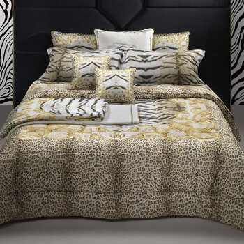 Tiger Frame Bed Set - Gold