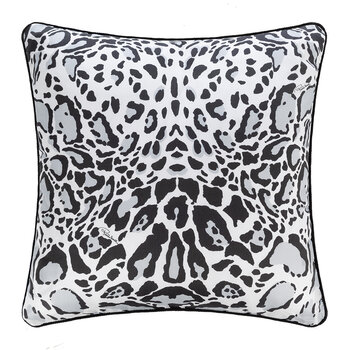 Linx Silk Cushion - 40x40cm - Grey