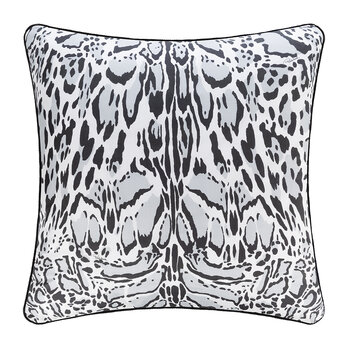 Linx Silk Pillow - 60x60cm - Gray