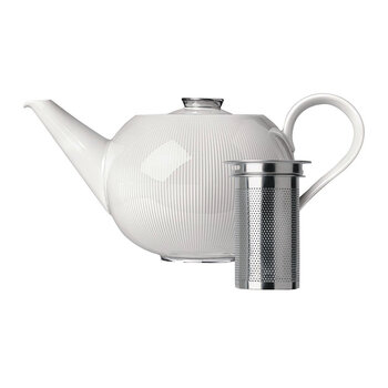 Stella Teapot with Tea Strainer