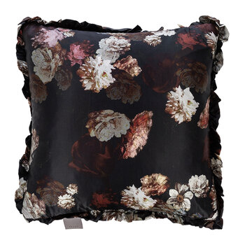 Peggy Bloom Reversible Cushion - Ivory