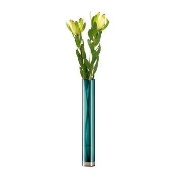Epoque Vase Tall - Peacock - 48cm