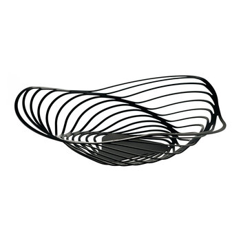 Trinity Centre Piece Basket - Black