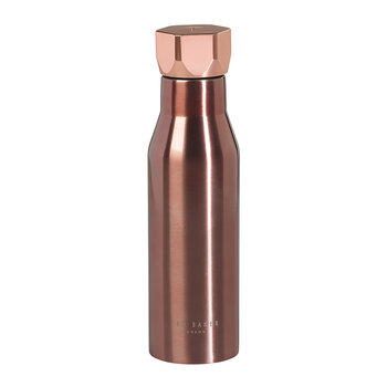 Insulated Water Bottle - 425ml - Rose Gold