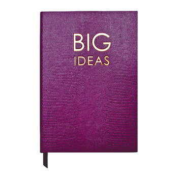 A5 Notebook - Wise and Witty - 'Big Ideas'
