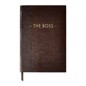 A5 Notebook - Wise and Witty - 'The Boss'