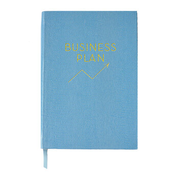 A5 Notebook - Wise and Witty - 'Business Plan'