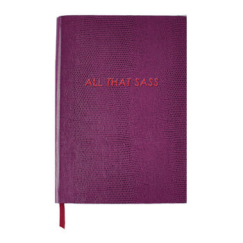 Journal - « All That Sass »