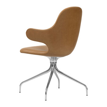 Catch JH2 Swivel Chair - Brown Leather