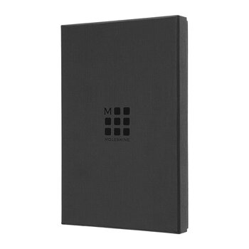 Classic Leather Notebook - Black