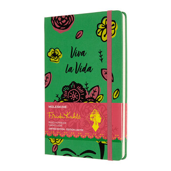 Limited Edition Frida Kahlo Notebook - 'Viva La Vida'