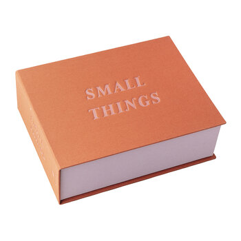 'Small Things' Storage Box - Rusty Pink