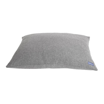 Pillow Dog Bed - Light Gray