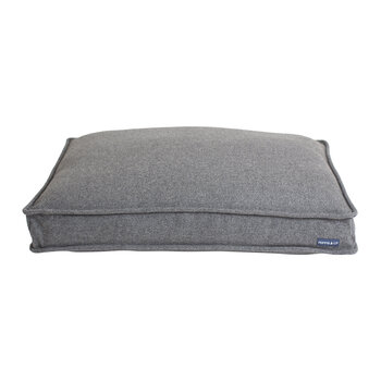Mattress Dog Bed - Light Gray