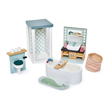 Kids Dolls House Bathroom Furniture