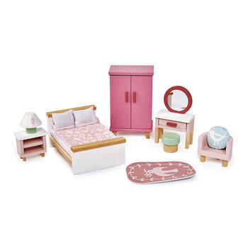 Kids Dolls House Bedroom Furniture