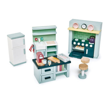 Kids Dolls House Kitchen Furniture