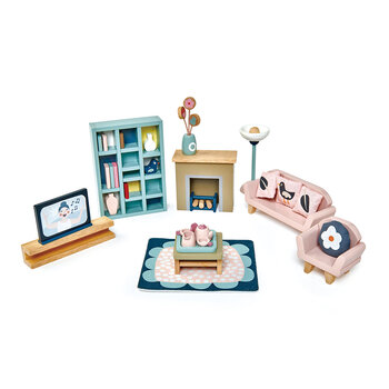 Kids Dolls House Sitting Room Furniture