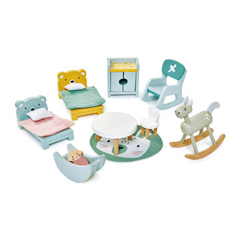 Kids Dolls House Childrens Room Furniture