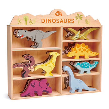 Kids Dinosaurs Shelf - Set of 8