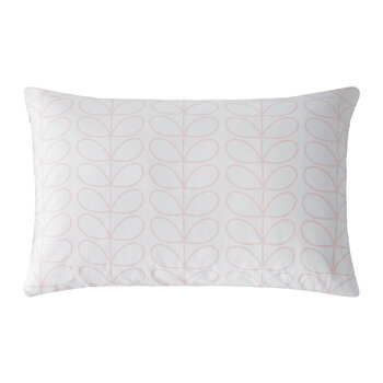 Linear Stem Pillowcase - Set of 2 - Cloud Pink