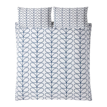 Linear Stem Duvet Cover - Whale