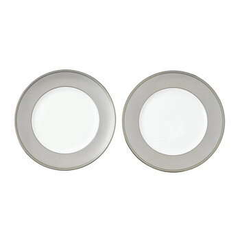 Winter White Plates - Set of 2 - 27cm