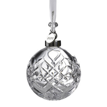 Christmas Cut Clear Bauble
