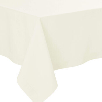 Florence Tablecloth - 170x170 - Cream