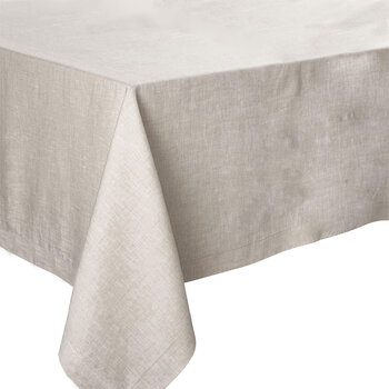 Florence Tablecloth - 170x170 - Natural