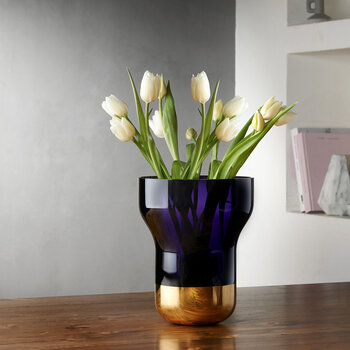 Contour Vase - Purple - Small