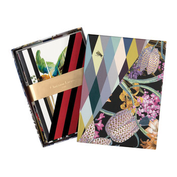Orchid's Mascarade Notecard Set