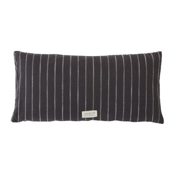 Kyoto Cushion - 30x60cm - Anthracite